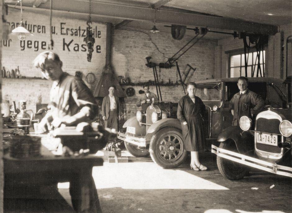 Innungsmitglied mit Gründungsdatum 1927: Autohaus Max Saparautzki GmbH & Co. KG